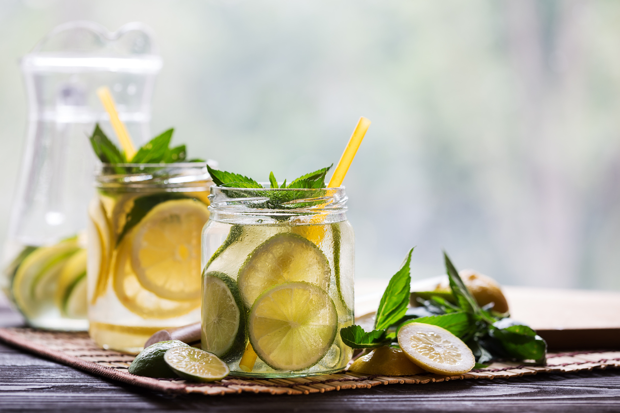Refreshing Barley Lemon Water Recipe - Four Leaf Milling