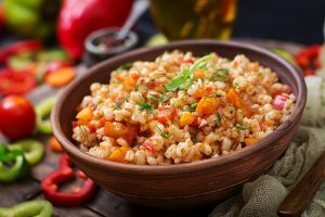 Pearl Barley & Walnut Salad