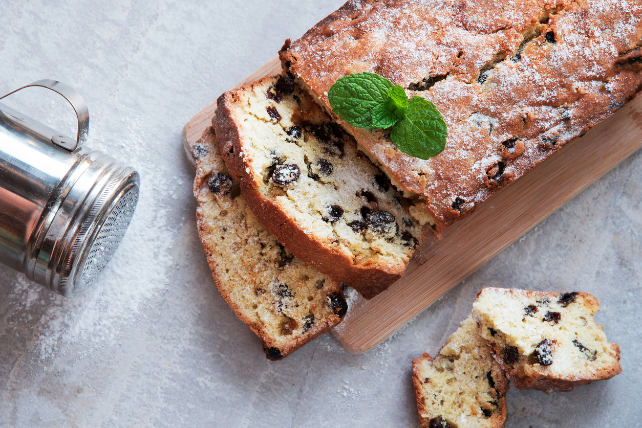 Canterbury Cake - Raisin Cake Recipe - Four Leaf Milling