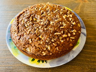Triticale Nutmeg Cake